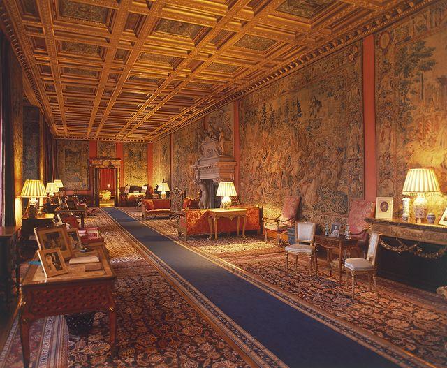 Anmer Hall Interior