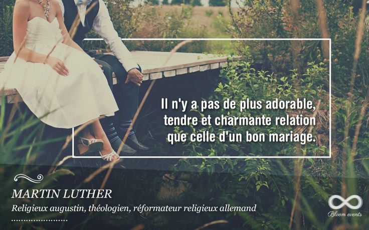 17 best images about le ons citations sur le mariage on pinterest belle wedding and. Black Bedroom Furniture Sets. Home Design Ideas