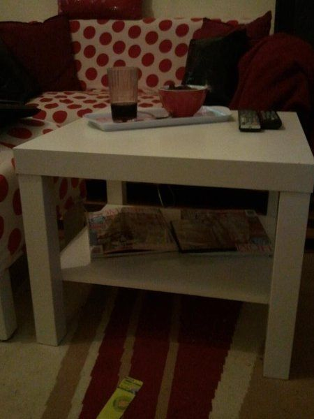 How to add an extra shelf to your lack side table! Simple and cheap!