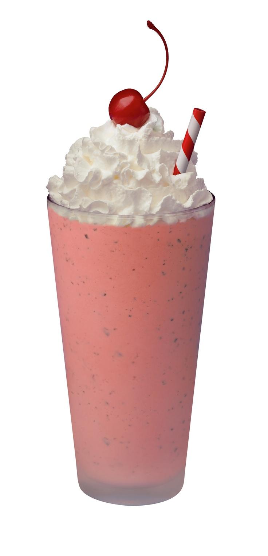 Peppermint Chocolate Chip Milkshake (limited time seasonal)