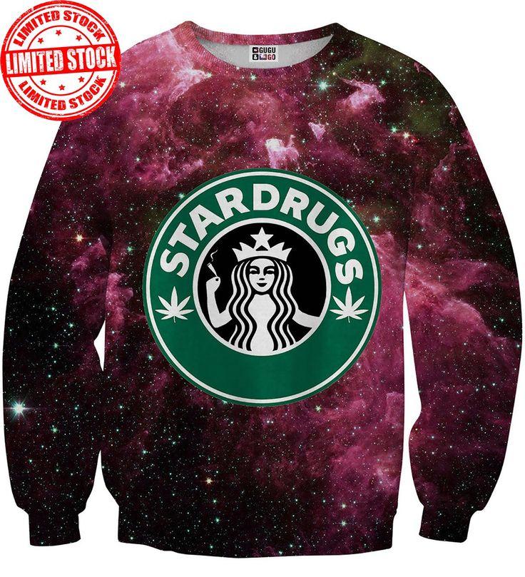Bluza ze wzorem Stardrugs | Mr. Gugu & Miss Go