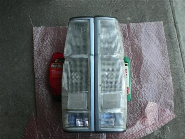 clear taillights for a nissan hardbody - Google Search