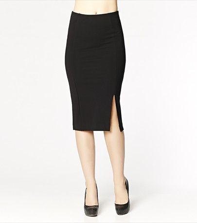 #DYNHOLIDAY There's nothing sexier than a curve-hugging midi skirt! Team it with our faux leather bustier for nights out!