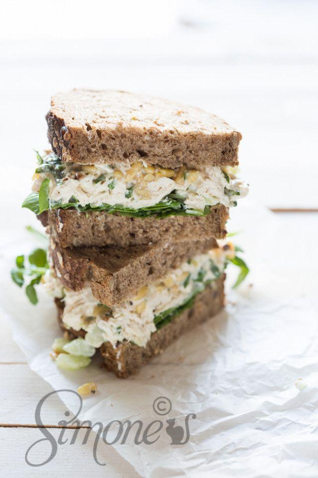 Kip sandwich | simoneskitchen.nl
