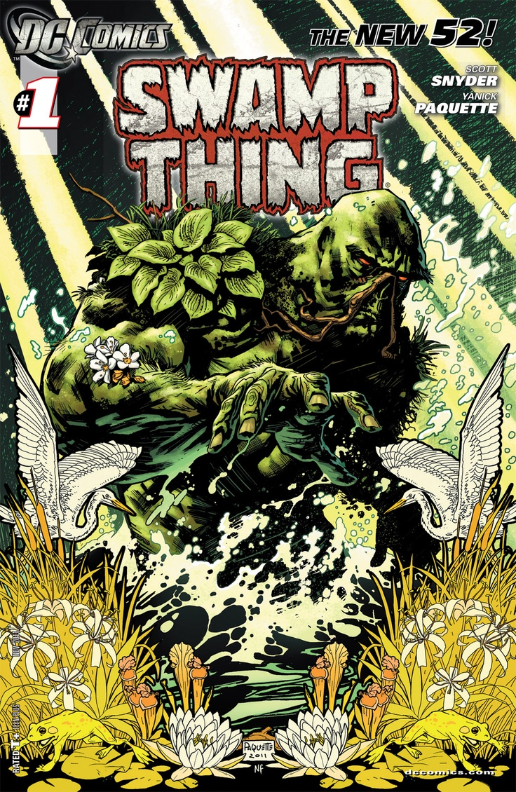 """Scott Snyder's """"Swamp Thing"""" best thing to happen to the title since Alan Moore"""