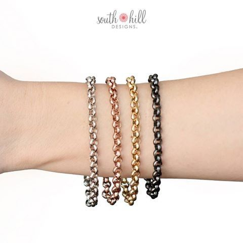 Our new rolo bracelets are ready to order now!  #Jewelry #Sale #Gifts #Style #Accessories