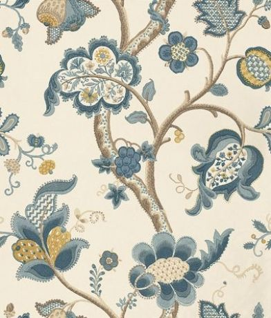 Sanderson Wallpapers-Vintage-Roslyn