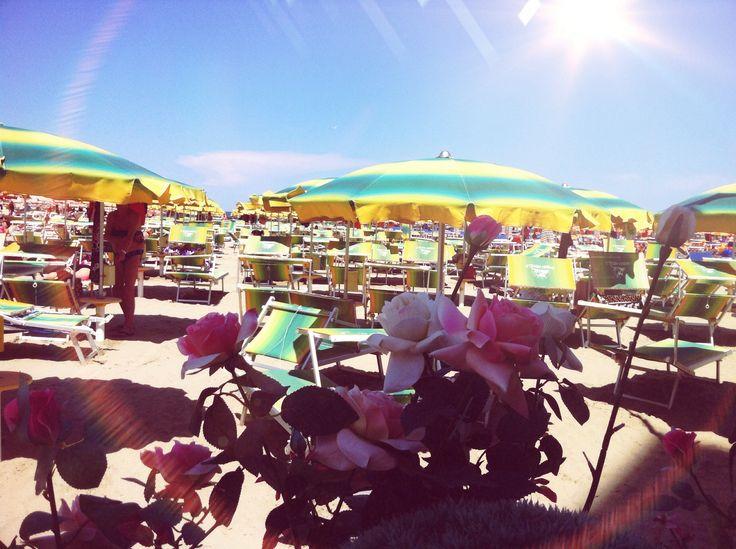 Gobbi Hotel's private Beach