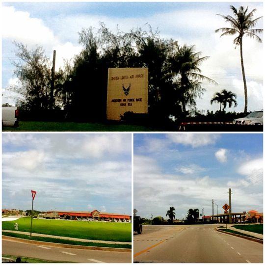 Andersen Air Force Base (AFB) in Yigo