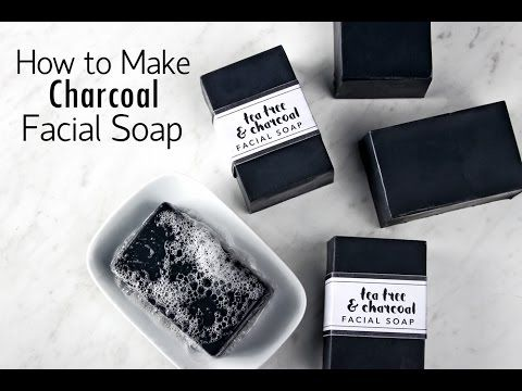 How to Make Charcoal Facial Soap - Soap Queen