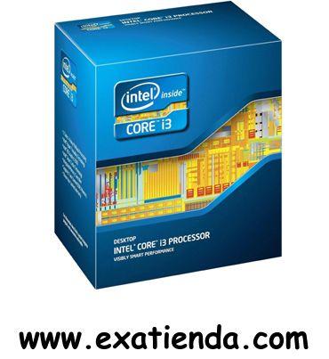 Ya disponible Cpu Intel s 1155 core i3    (por sólo 122.95 € IVA incluído):   -Socket soportado: LGA1155 -Cache:  3MB -Velocidad de Reloj: 3,4 GHz -Bus del Sistema: 5 GT/s -Arquitectura: 22 nm -Formato: BOX -Otros: Intel HD Graphics 2500  Garantía de 24 meses.  http://www.exabyteinformatica.com/tienda/2048-cpu-intel-s-1155-core-i3-3240-3-4ghz-box #intel #exabyteinformatica