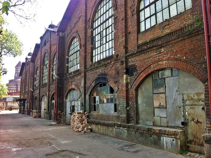 Former Wolf Factory (today Hesper Factory). A 19 century industrial building in Bucharest, subject of a reconversion project: Halele Carol Project