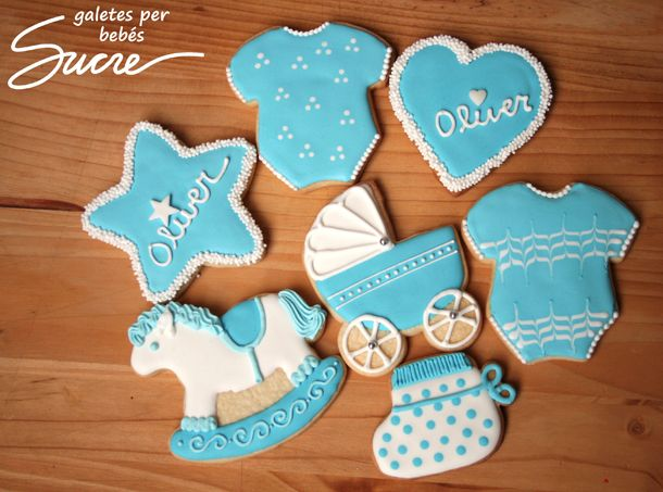 Galletas Decoradas Baby Shower Niña Imagui