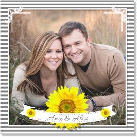 Invitatie nunta Floarea Soarelui
