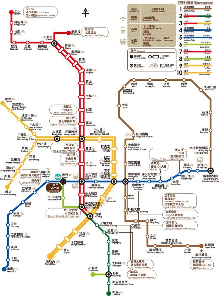 amba-taipei-ximending-hotel-taipei-metro-map-near-ximen-metro-