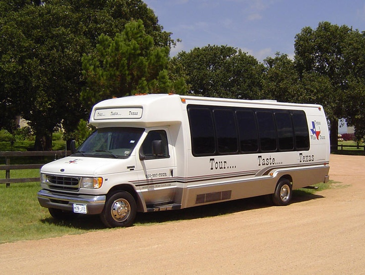 Long Tour - This is our flagship tour which takes you to 5 of the best wineries and tasting rooms in the Hill Country. Beginning in Fredericksburg with a 10:30am pick-up at your lodging or the Convention and Visitors Bureau. We continue our tour and visit five wineries with lunch and tasting fees included