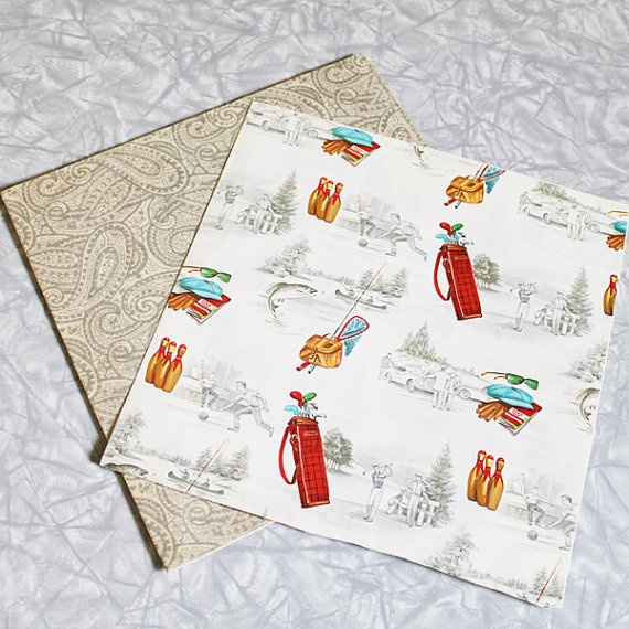 3 Gift Wrap Ideas for Men   Cutefetti  Christmas Wrapping Paper For Men