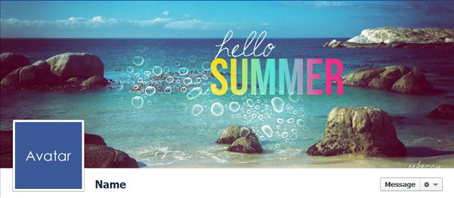 Hello Summer Facebook Cover.  For more visit http://www.quality-cover.com