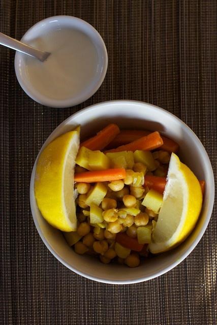 Warzywa po marokańsku. Aromatyczne, gorące, pyszne...