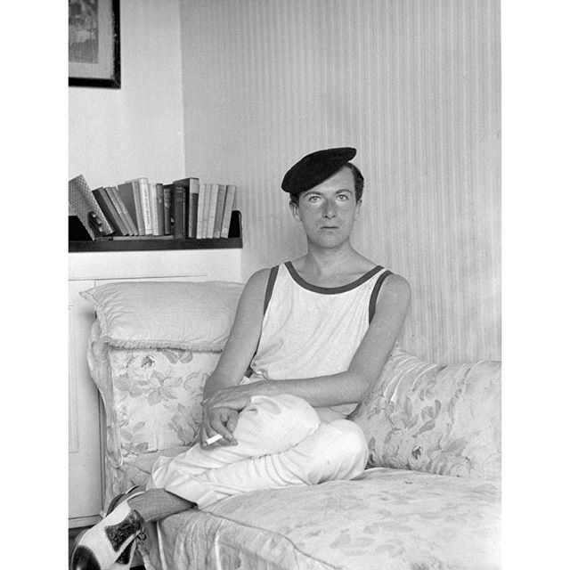 Cecil Beaton. Self-portrait 1924