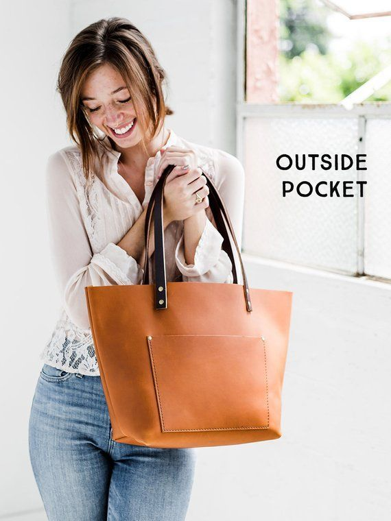 803412d305bd1 Leather Totes Crafted by Artists in SE Portland • 100% Handmade in the U.S. Leather  Bag - Tote Bag - Personalized Gift for Her - Portland Leather ✨ BLACK ...