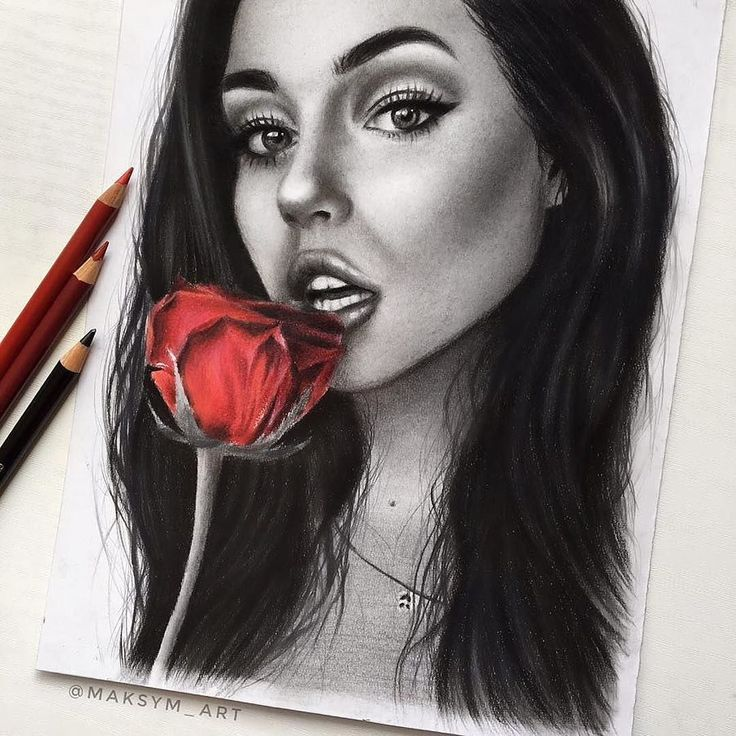 WANT A FEATURE ? CLICK LINK IN MY PROFILE !!! Tag #LADYTEREZIE Repost from @maksym_art Drawing of @maggielindemann l used fabercastell 9000 pencils black polychromos pencil and prisma color pencils. Yesterday l didn't like it at allbut l really like how it looks now via http://instagram.com/ladyterezie