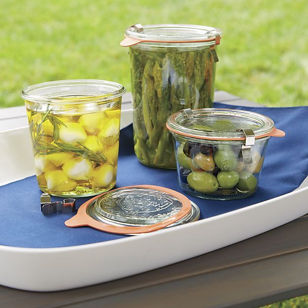 Weck 18 oz. Canning Jar in Food Storage   Crate and Barrel