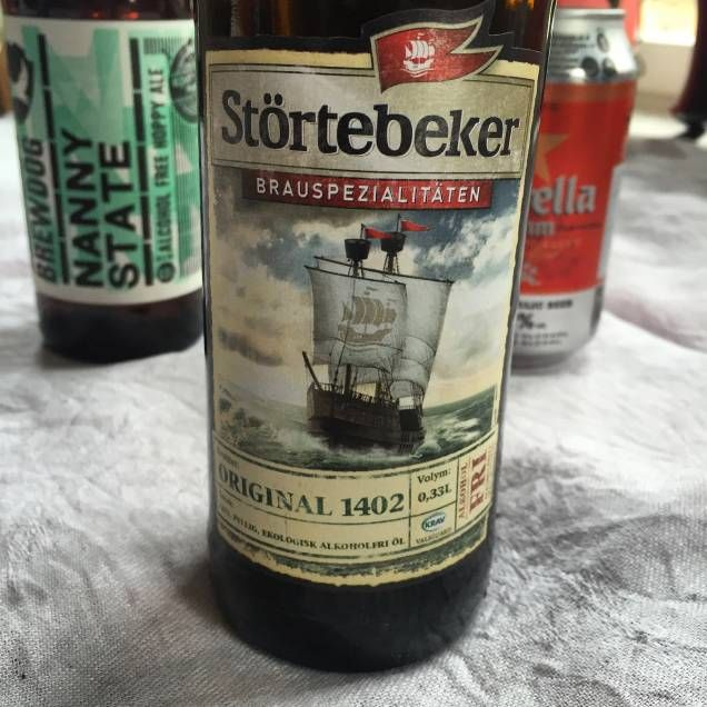 Störtebeker från Stralsund Brauerei.