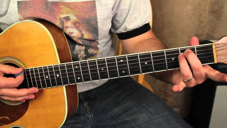 how to play one by metallica on acoustic guitar