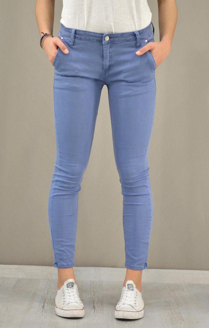 Γυναικείο παντελόνι τσίνος skinny | Παντελόνια - Παντελόνια -