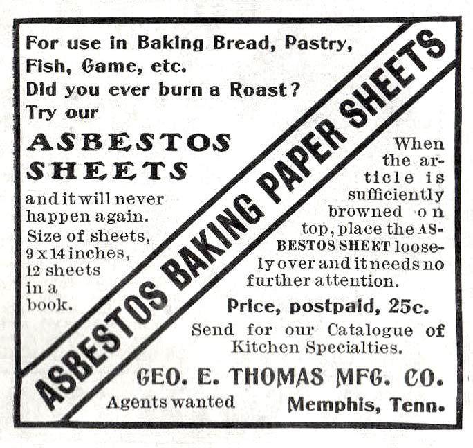 Asbestos Sheets.