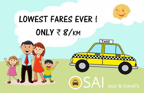 Book A Ride At ₹8/Km Only With Sai Tour & Travels. #Chandigarh #Mohali #Panchkula  #Taxiservice #Touroperator