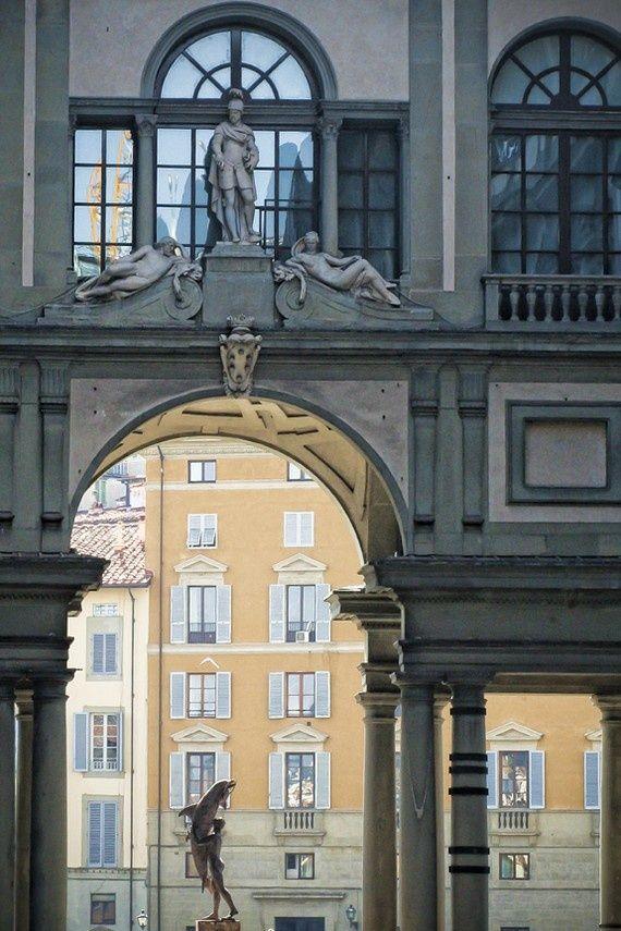 Uffizi Gallery Courtyard - Florence, per Delfina, firenze, province of Florence Tuscany