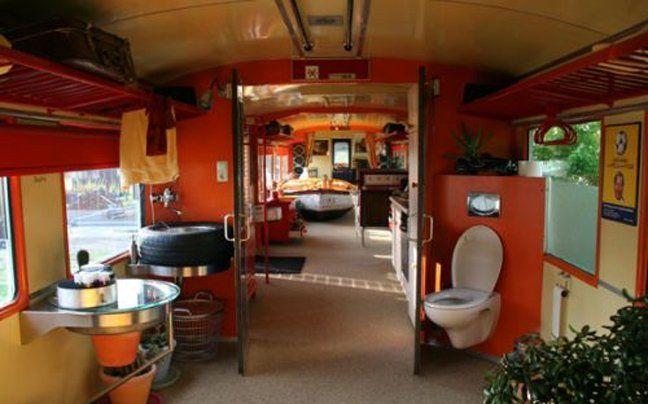Hotelkamer in wagon, mexico