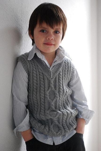 Cute boy's vest