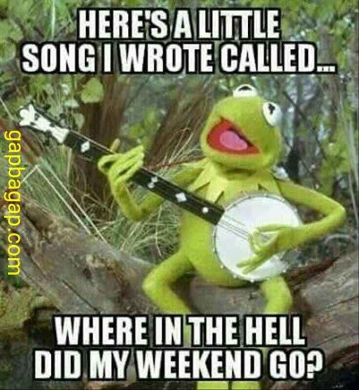 Funny Joke About Songs vs. Weekends