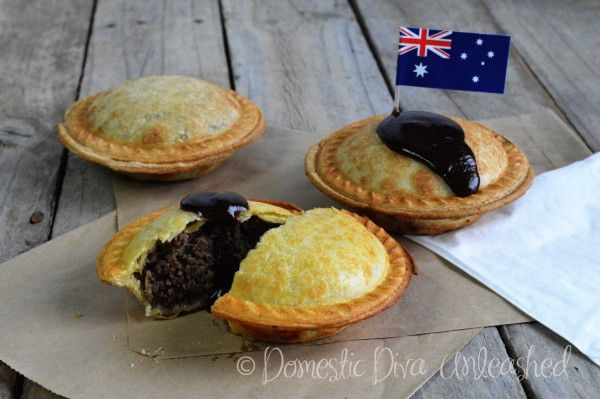 Domestic Diva: failsafe Lamb Meat Pies. Perfect for Australia day.