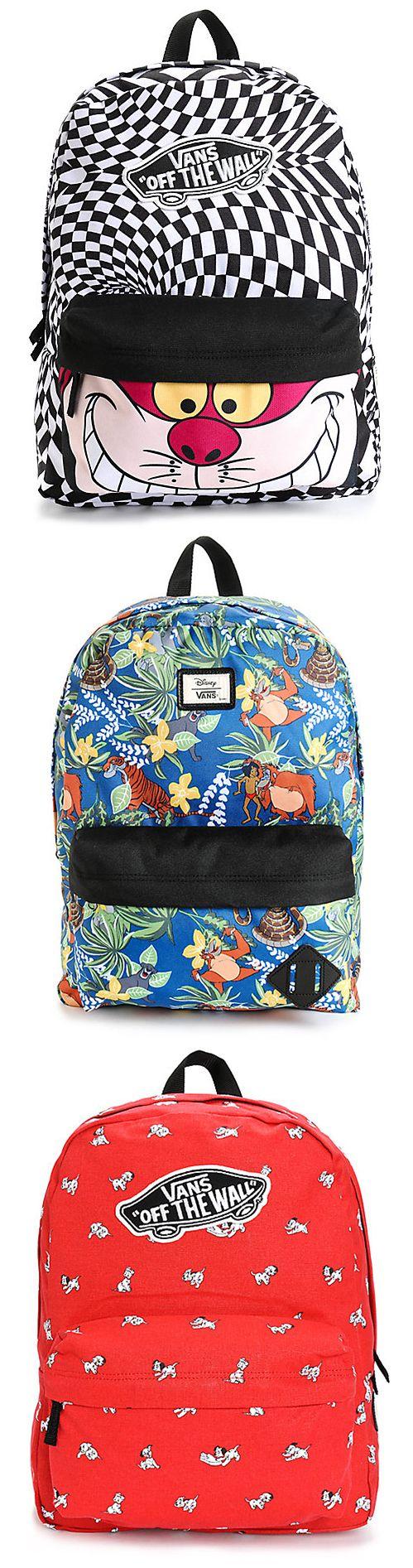 New Disney x Vans backpacks are here!