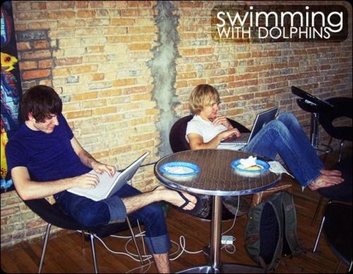 Sunset 1989 - Swimming...