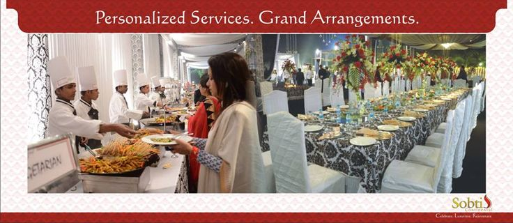 Be it large or small, we have both infrastructure and space to cater to all your specific space needs. Our caterers are the leading names within the trade and qualified enough to offer you a wide variety of menu options to choose from. www.sobticontinental.com/rudrapur/gallery.php