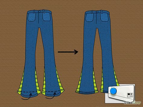 How to Cut Jeans to Make a Wider Leg