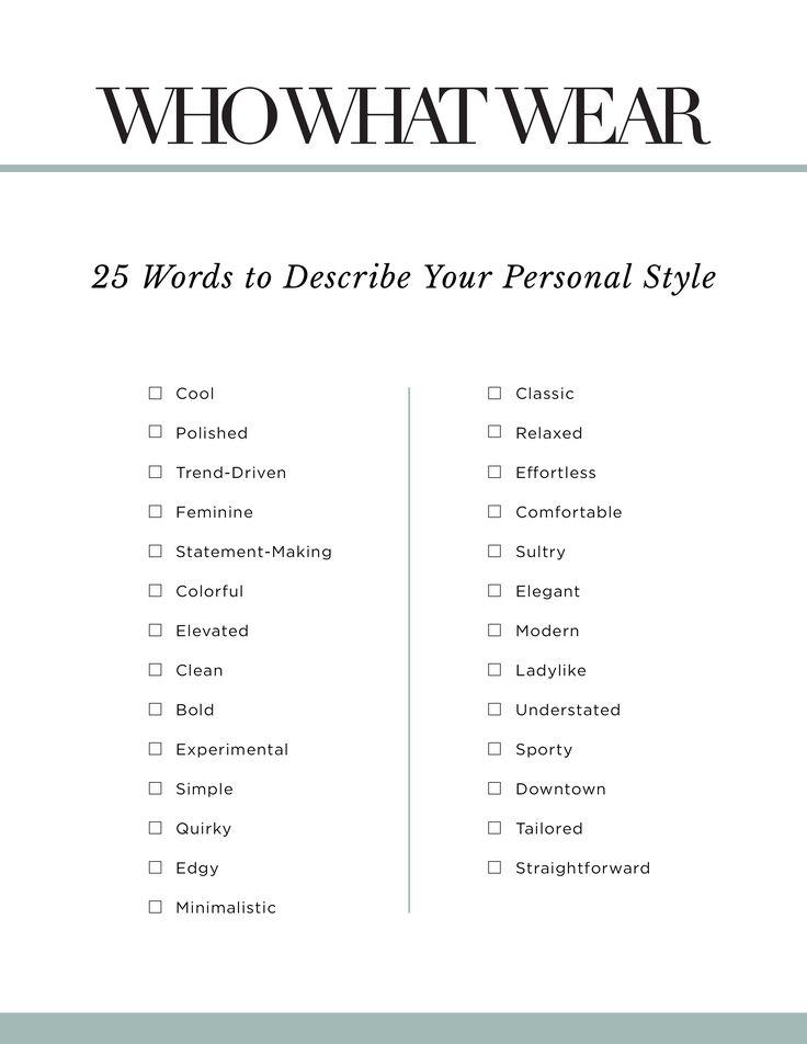 The 3-Word Rule Fashion Insiders Use When Getting Dressed via @WhoWhatWearUK