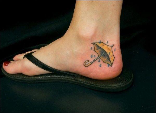 Ideias de Tatuagens Pequenas para os Pés | Fotos de Tatuagens