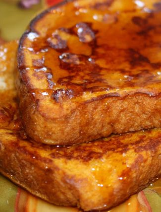 Pumpkin Pie French Toast - these are AMAZING!!