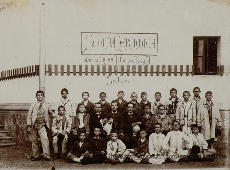 Targu Jiu - Scoala de ceramica 1900