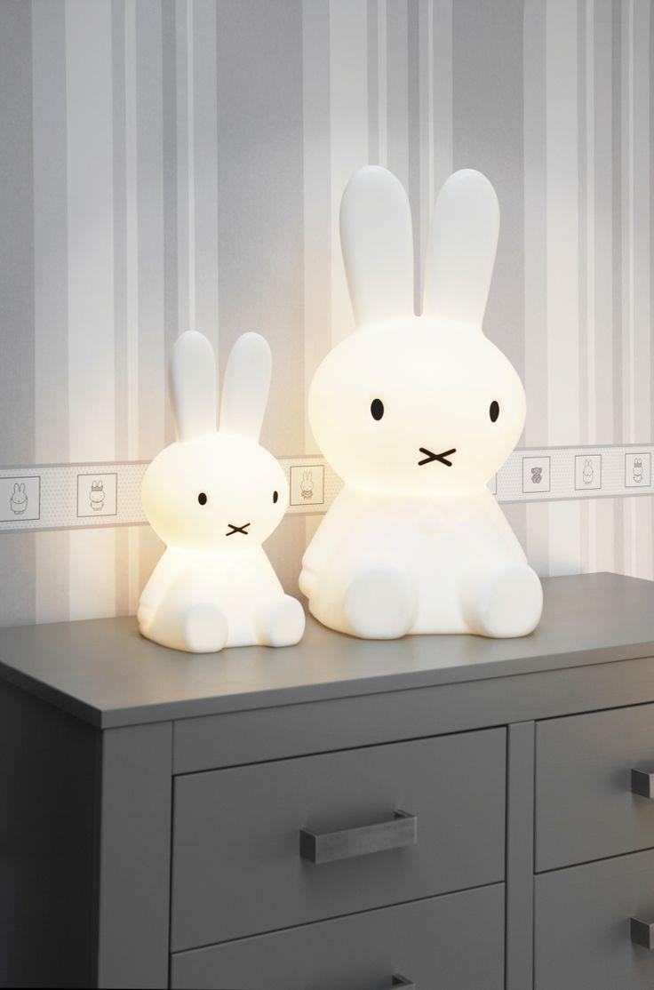 Deze Nijntje lamp is hartstikke leuk voor op de kinderkamer! #miffy #lamp