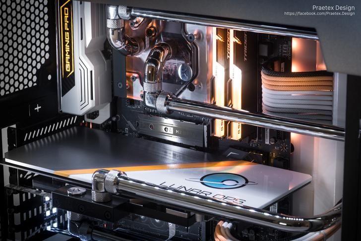 Winston PC Build | WaterCooling Rebuild Inspiration | Gaming