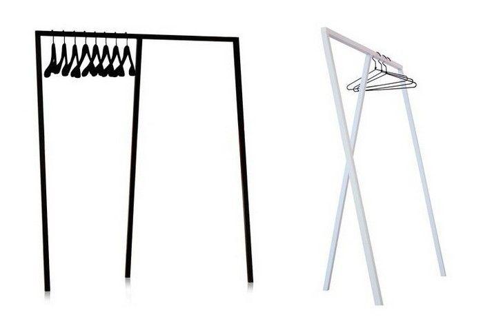 Η κρεμάστρα εισόδου Loop Stand είναι σχεδιασμένη από τον Leif Jørgensen για την HAY και είναι απλή, απόλυτα minimal, χρηστική και κομψή. Αρχικά σχεδιάστηκε για την μπουτίκ μόδας και έργων τέχνης Storm στην Κοπενχάγη, όπου ο Leif Jørgensen ανέλαβε την διακόσμηση, όμως η μεγάλη επιτυχία του σχεδίου οδήγησε σε ευρύτερη παραγωγή. Ουσιαστικά πρόκειται για ένα ιδιόμορφο τρίποδο, μια ανάλαφρη και ταυτόχρονα στιβαρή κατασκευή με μια μπάρα για το κρέμασμα των ρούχων. Όπως τα περισσότερα αντικείμενα…