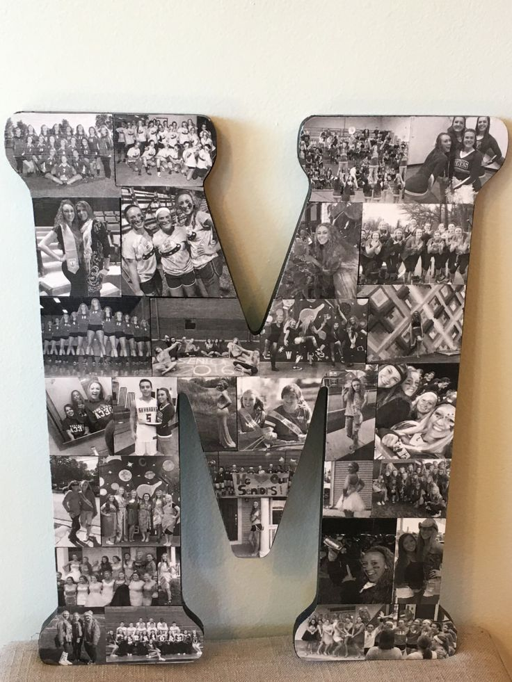 Wooden Letter Picture Collage by WoodYouLikeACollage on Etsy