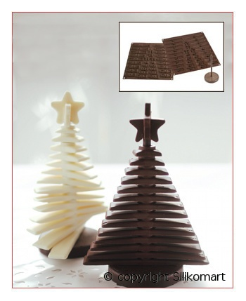 christmas chocolate tree